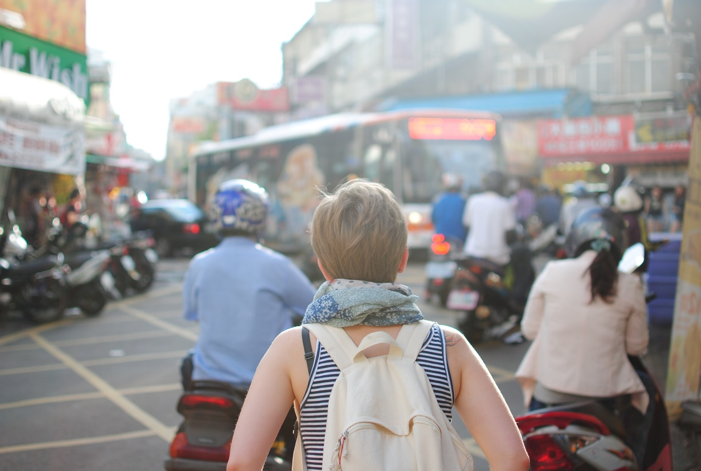 learn a new language by travelling