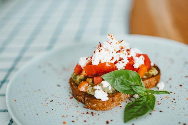 healthy aesthetic cafe foods lockdown